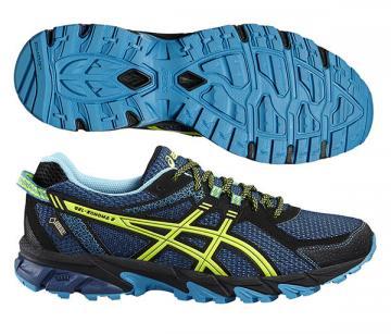 2b523ac4b2 Asics Gel-Sonoma 2 GTX férfi futócipő (kék-sárga-világoskék)